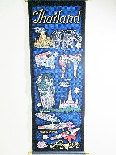 Hang Fabric Art Printing Wall Art Decor Thailand History Story