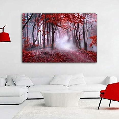 Pintura sin Marco Arte manglar Bosque Lienzo Pintura decoración ...