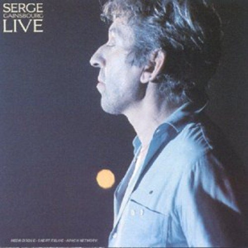 CD : Serge Gainsbourg - Live (CD)