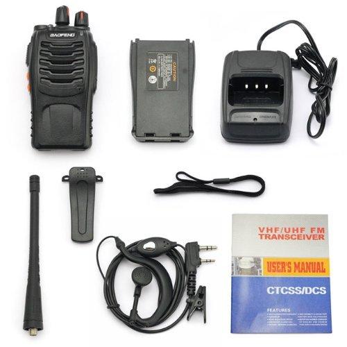 1pcs BAOFENG BF-888S UHF FM Transceiver High Illumination Flashlight Walkie Talkie Two-Way Radio from NSKI
