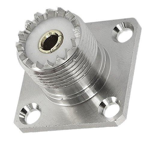 CESS UHF Female Socket SO239 Solder Panel/Chassis Mount (8 Pack)