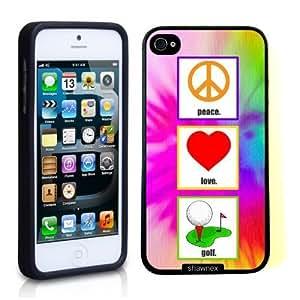 Case For Sam Sung Galaxy S5 Mini Cover Thinshell Case Protective Case For Sam Sung Galaxy S5 Mini Cover Love Peace Golf