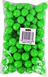 Fairly Odd Novelties 3/4 Mini Ping Pong/Table Tennis/Beer Pong Round Balls (100 Pack), 19mm, Green