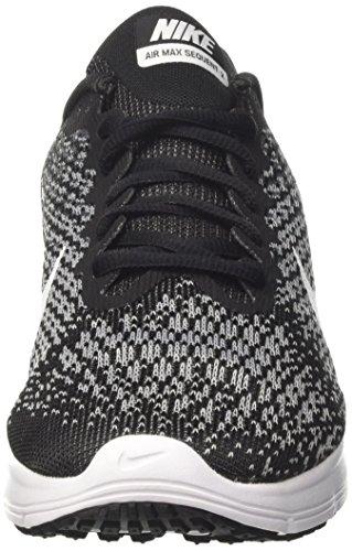 noir Scarpe Sequent Donna gris Max gris Wmns Nero blanc Air Nike loup Running 2 foncé xXzqTWZnwC