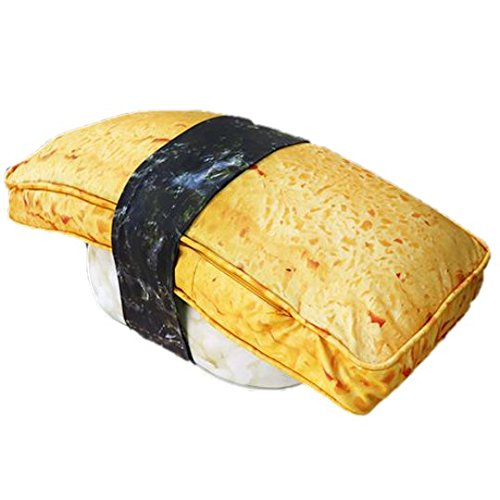 Sansukjai TAMAGO SUSHI Pillow Large Polyester Pillow 95 cm for Home Decoration Gift and Collection