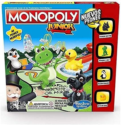 Monopoly - Junior (Versión Española) (Hasbro A6984793): Amazon.es ...