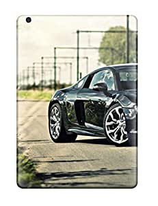 For VTMmuLn1547BiAGS Audi R8 Black Roads R V Reflections Railway Cars Audi Protective Case Cover Skin/ipad Air Case Cover