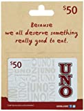Uno's Gift Card $50