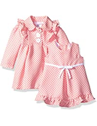 Baby Girls' Dress and Coat Set