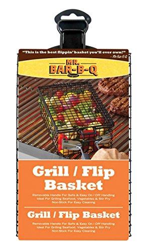 Mr.BarBQ 06762Y Non-Stick Grilling (Stir Fry Basket)