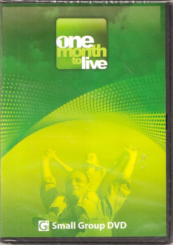 One Month to Live--Six-Session Challenge Group DVD