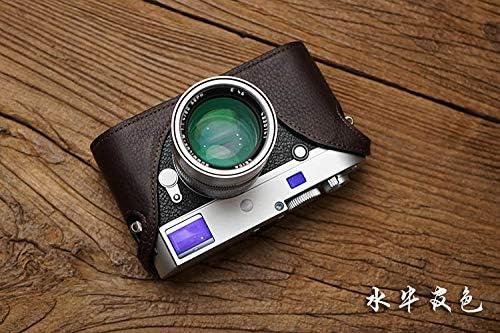Mr.Stone Handmade Genuine Leather Camera case Video Half Bag Camera Bodysuit for Leica Big M M240-P M240 M-P M-M MM MP Camera PTG002
