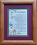 #3047 A Framed Poem Gift For 16th 18th 21st 30th Birthday Present For A Daughter