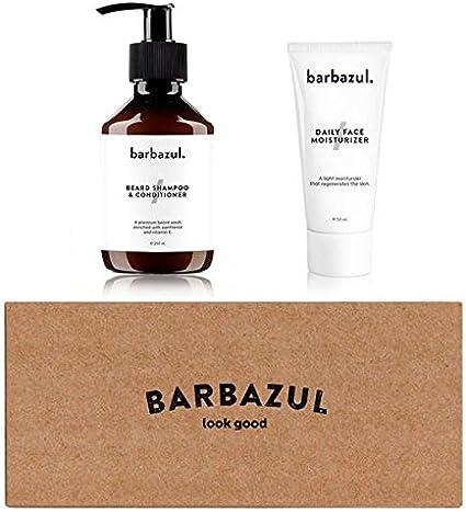 Jabón de barba y acondicionador + Crema Facial Hidratante 50ml ...