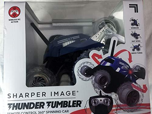 Thunder Tumbler Sharper Image Remote Control 360 Spinning Car
