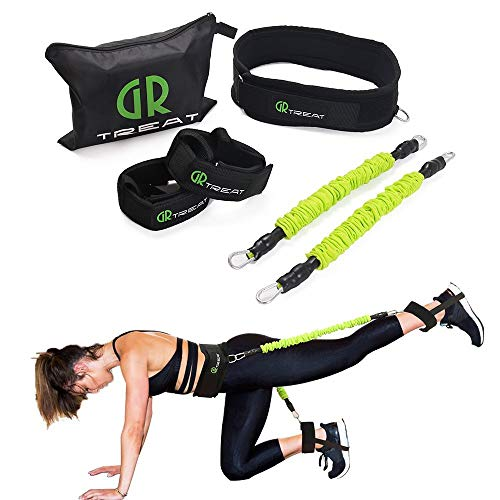 2987b9c88e521 Booty Fitness Band Set - Booty Belt for Glutes Muscle Workout - Perfect  Band to Lift