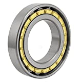 uxcell N216EM 140mmx80mmx27mm Single Row Cylindrical Roller Bearing