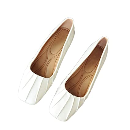 30b0341447fc7 Amazon.com: August Jim Womens Flat Shoes,Walking Flats Comfortable ...