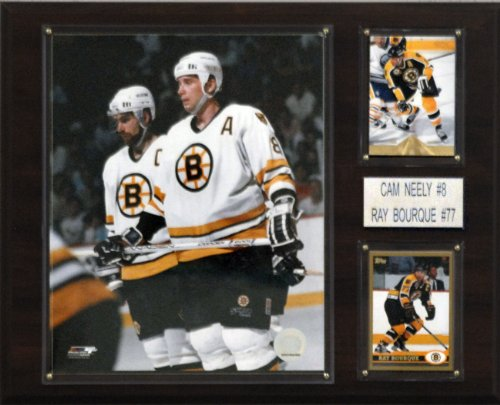 NHL Neely-Bourque Boston Bruins Player Plaque