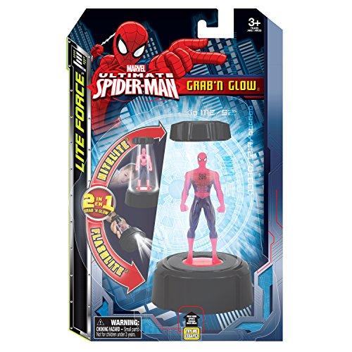 Tech Kids Spiderman Grab Glow