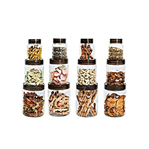 Cello Checkers Plastic PET Canister Set