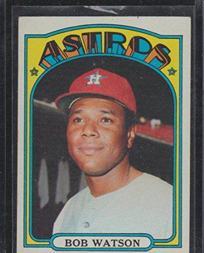 1972 Topps Bob Watson Astros Baseball Card #355