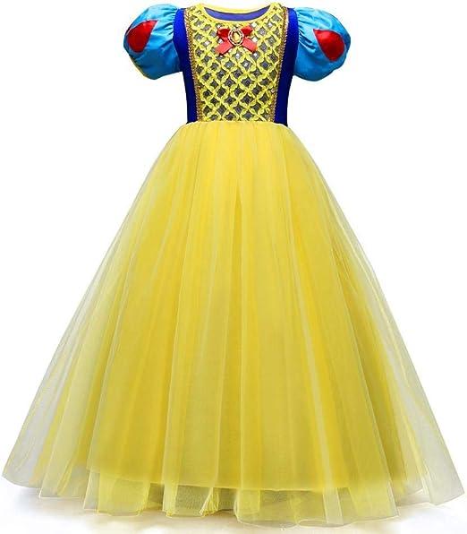 QJKai Vestido de la Princesa tamaño Mediano niños Vestidos Vestido ...