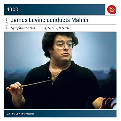 James Levine Conducts Mahler: Symphonies Nos. 1, 3, 4, 5, 6, 7, 9 & 10 - Seller: -importcds [+Peso($26.00 c/100gr)] (MMV)