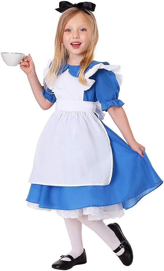 Juego de Halloween para niños, Uniformes de Alicia en el país de ...