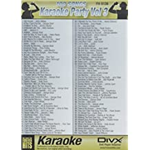 VocoPro KARAOKEPARTYVOL3 100 Songs on One DVD Disc