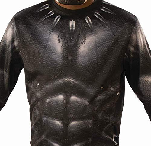 I-700657M taglia 5-6 anni per bambini Costume ufficiale Black Panther Avengers Rubies I-700657M unisex multicolore