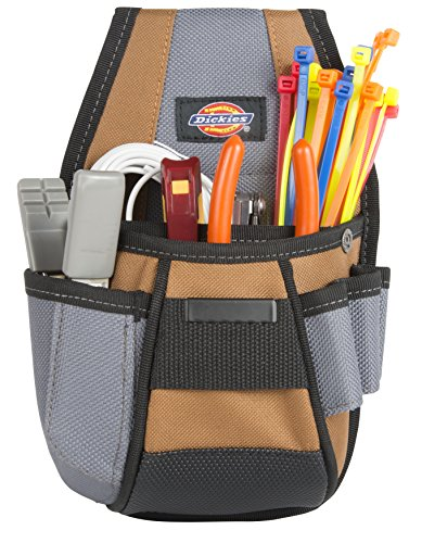 Dickies Work Gear 57099 4-Pocket Rigid Tool Pouch with Tape Clip by Dickies Work Gear (Image #4)