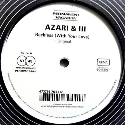 Azari & III - Reckless (With Your Love) - Amazon com Music