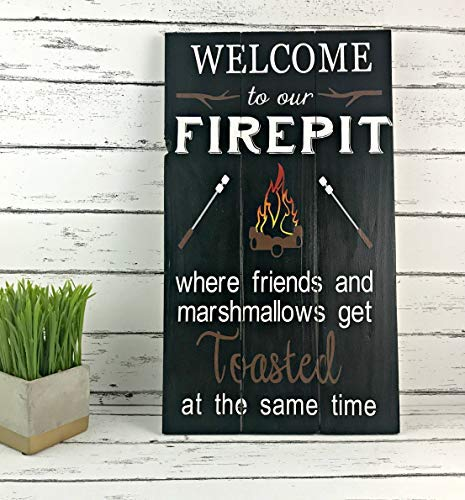 Eyrrme Cartel con Texto en inglés Welcome to Our Fire Pit ...