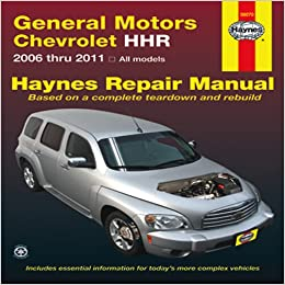 2006 hhr wiring diagram 2006 image wiring diagram general motors chevrolet hhr 2006 thru 2011 all models haynes on 2006 hhr wiring diagram
