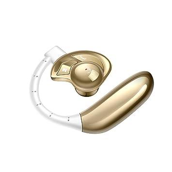 AMINY - Auriculares Bluetooth con respuesta de voz para teléfonos, auricular Bluetooth con