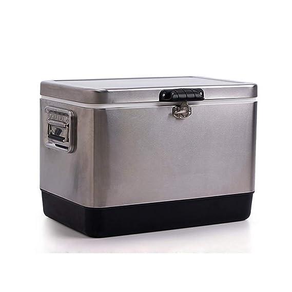 HYRL Caja del refrigerador de la PU del Acero Inoxidable, Bolso ...