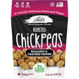 Three Farmers Roasted Chickpeas - 120g - 6 Pack - Balsamic Cracked Pepper