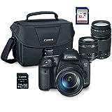 Canon EOS 7D Mark II Digital SLR Camera Wi-Fi Adapter Kit with EF-S 18-55mm STM + EF 75-300mm III + ES100 Case + 32GB Class 10 SD Card - International Version