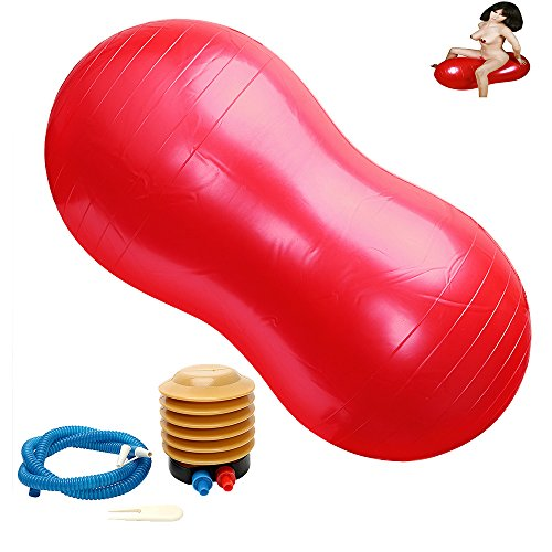 Inflatable Position Cushion- Peanut Shape Magic Sofa Ball Multi-functional Adult Game Chair Great Toys Furnitures Adult Toy Products with Pump by AUEXY