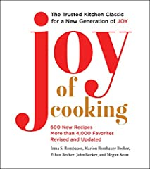 """""""Cooking shouldn't just be about making a delicious dish—owning the process and enjoying the experience ought to be just as important as the meal itself. The new Joy of Cooking is a reminder that nothing can compare to gathering around the ta..."""