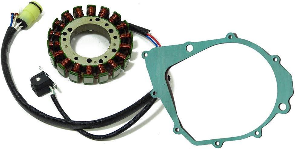 Lichtmaschine Ersatzteil Für Kompatibel Mit Yamaha Raptor Yfm 350 R Stator Dichtung Auto
