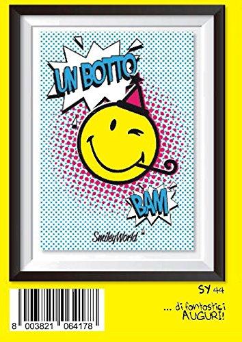 Tarjeta Felicitación cumpleaños Emoticon Emoji Party Bam ...