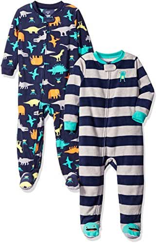 Carter's Baby Boys' 2-Pack Fleece Pajamas