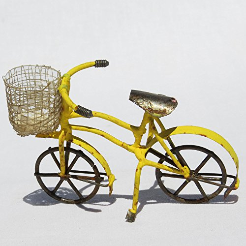 Miniature Garden Bicycle Basket Options product image