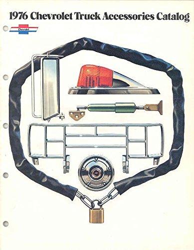 - 1976 Chevrolet Accessories Truck Sales Brochure
