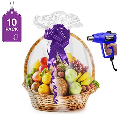 Shrink Basket Baskets Clear Cellophane product image