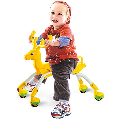 (Ride on Toys of Toddlers Car Roller Scooter - Riding Tricycle with Wheels Balance Trainer Bike for 1-2 Years Old Boys Girls Kids Children Activities (Yellow))