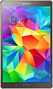 "Samsung Galaxy Tab S - Tablet de 8.4"" (WiFi + Bluetooth, 16 GB, 3 GB RAM, Android), titanio/bronce (versión europea)"