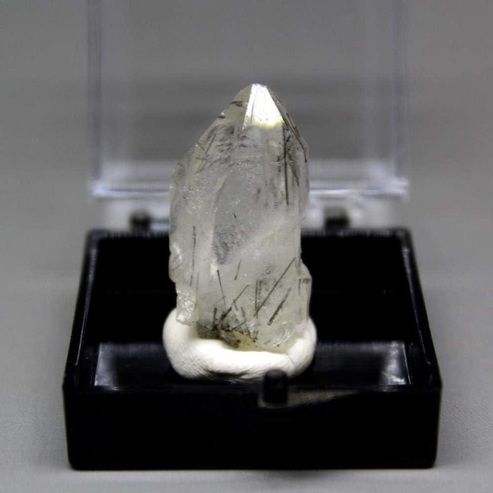 SDJH 100% Natural Malaquita Turmalina Negra Wolframita Realgar Espécimen Mineral Piedras y Cristales Cristales curativos Cuarzo, Cristal